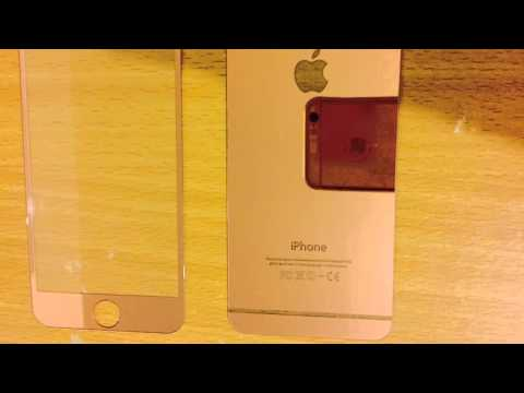 iPhone 6 6S Rose Gold Screen Protector