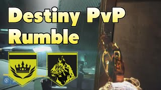 Destiny PvP - Rumble - Sum Of All Tears + Mark of the Unbroken