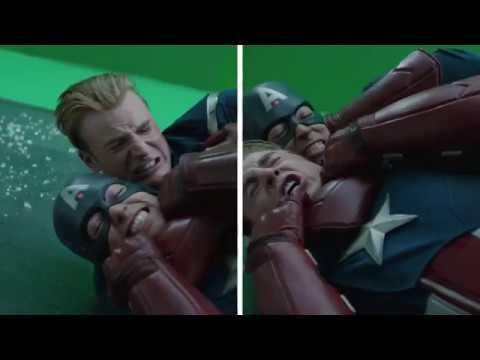 Avengers: Endgame | Cap Vs Cap VFX
