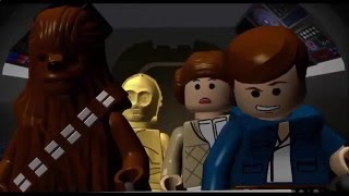 Мультфильм,Игра Звездные войны Star wars эпизод 5 Империя наносит ответный удар часть 22 LEGO,ЛЕГО