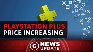 PlayStation Plus Subscription Price Increasing - GS News Update
