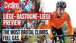 The Most Brutal Climbs of Liege - Bastogne - Liege Full Gas | Cycling Weekly