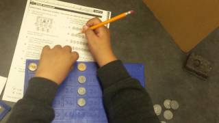 Naming decimals(Using math manipulatives to problem solve questions about decimals through the hundredths place value (4th grade skill), 2016-01-09T05:07:27.000Z)