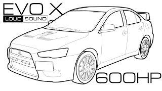 [Тест-Драйв] Evolution X 600+ Hp