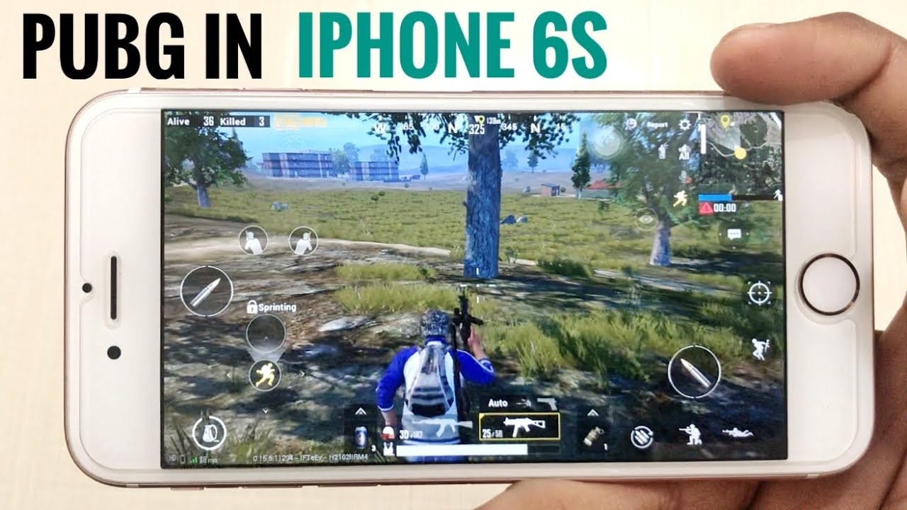 Pubg test in iphone 6s? battery | Performance | Heat | ?? full gameplay review ?