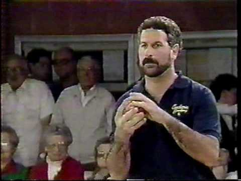 Candlepin Bowling - Mark Gregory vs. Jim Desimone