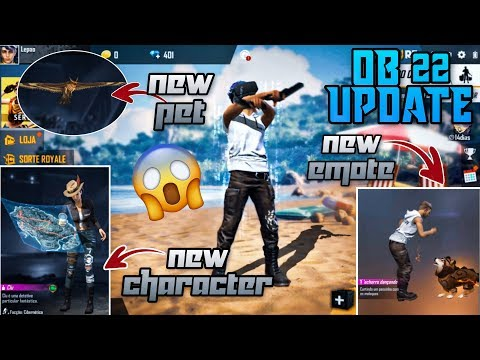 Free fire new update full detail 2020 || ob 22 update free fire new character, free fire pet 2020