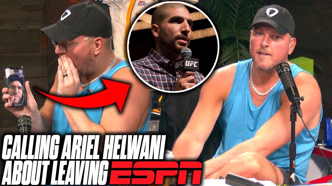 Pat McAfee Talks About Ariel Helwani Leaving ESPN, Calls Him Live On Air