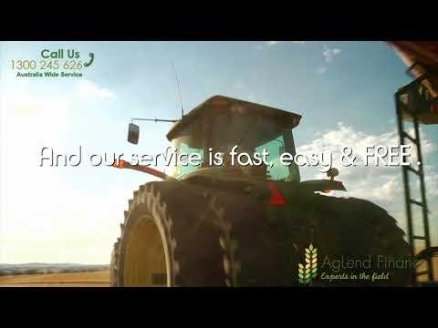 Farm Equipment Financing, Plant & Equipment Finance | AgLend Finance
