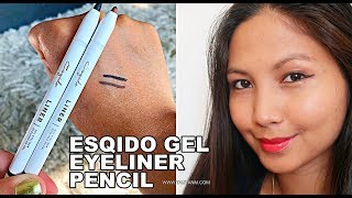 ESQIDO Gel Eyeliner Pencils | Cat Eye Makeup Tutorial | Jane Fashion Travels