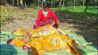 garole sheep fest two big sheep meat amp 50 kg polaw rice mixed biriyani for whole village people