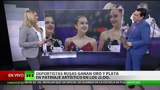 Primer oro para Rusia en Pyeongchang: Zaguítova se corona a sus 15 años en patinaje artístico
