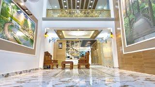 Bán nhà Gò Vấp ( 41 )4.5m x 35m BỘ BA NHÀ PHỐ ĐẸP NỘI THẤT SANG TRỌNG MẶT TIỀN BUÔN BÁN Ở GÒ VẤP