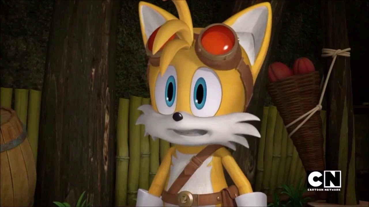 Sonic Boom Tails Ask Sticks Why - YouTube