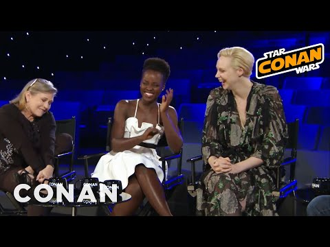 Carrie Fisher Unleashed  - CONAN on TBS