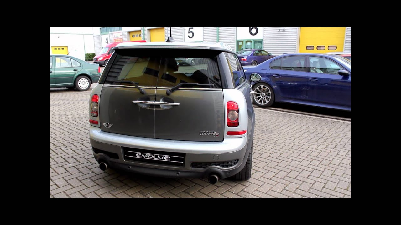 Mini R55 Clubman Mini Cooper S Evolve Sport Cat Downpipe 2 Youtube