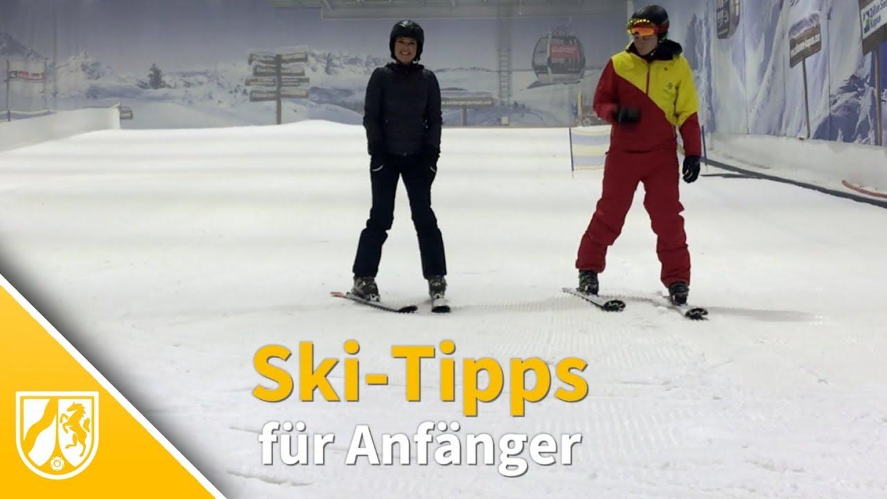 Skifahren lernen tipps für anfänger mit denen sie