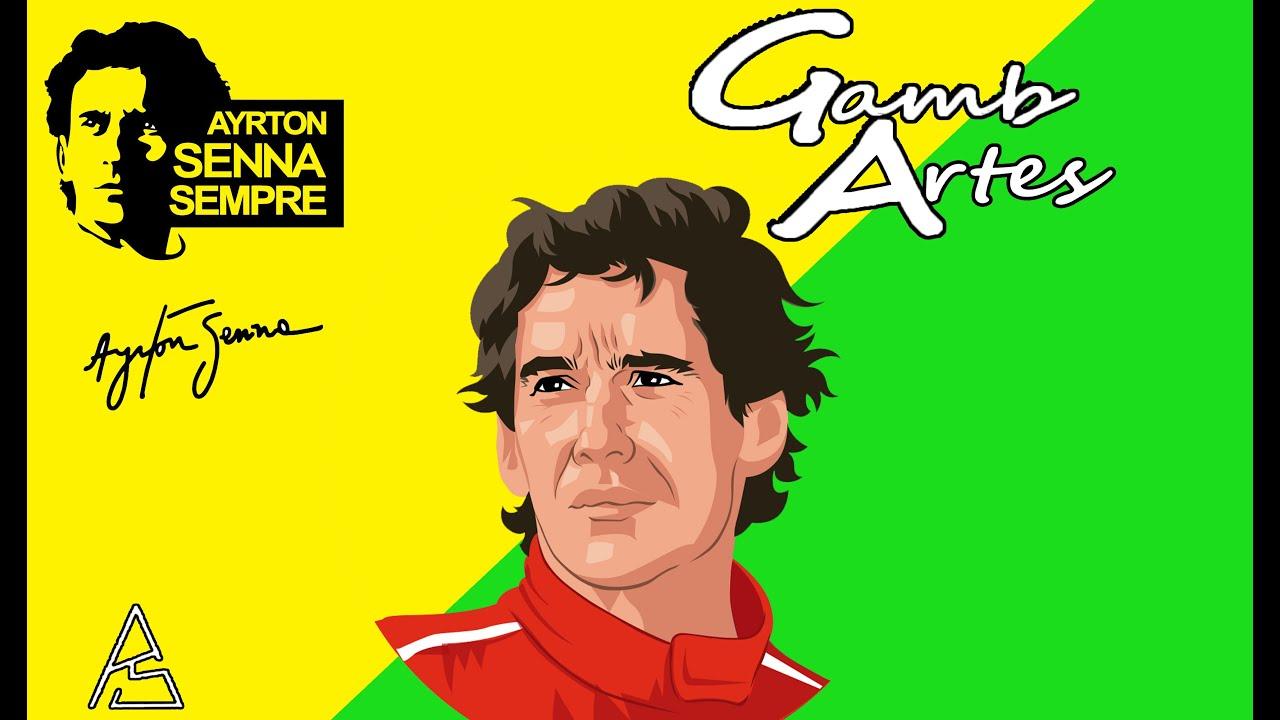 Sculpting Ayrton Senna