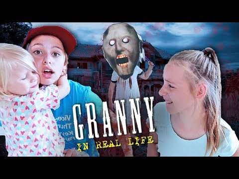 GRANNY horror game IN REAL LIFE!! Granny VS pause REMOTE!!