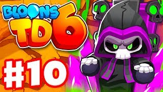 Soulbind Becomes the Prince of Darkness! Tier 5 Wizard! - Bloons TD 6 - Gameplay Walkthrough Part 10