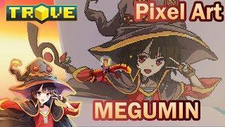 Trove   Megumin Pixel Art