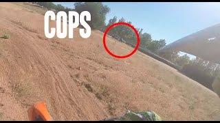 Dirt Bikers vs Cops - GoPro
