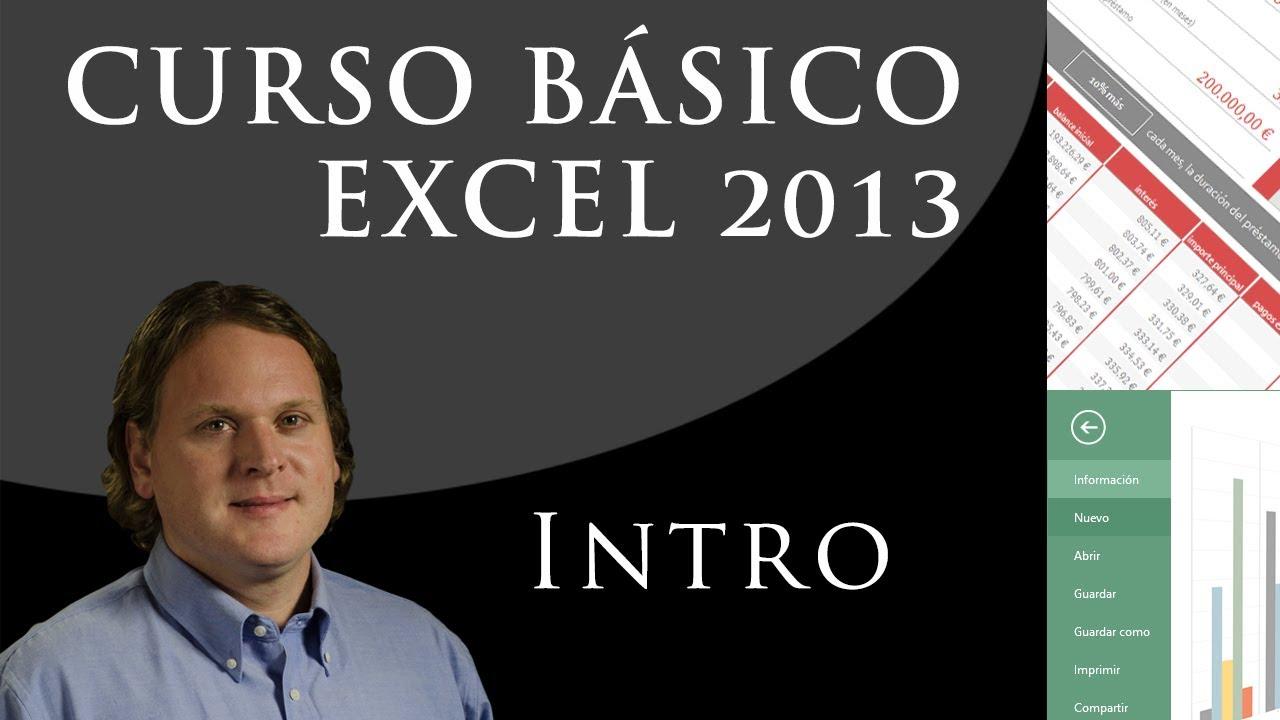 Download Curso básico de Excel. Introducción. (Clase 0 de 25)