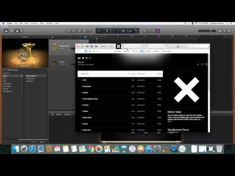 Recording music in Garageband: The XX - Intro cover