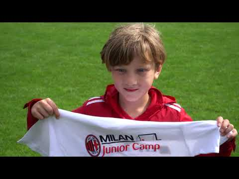 FK Trakai team visit Milan Academy Vilnius Camp in Trakai.