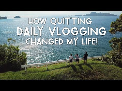 HOW QUITTING DAILY VLOGGING CHANGED MY LIFE (Corregidor Island) | Vlog #255