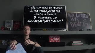 Немецкие слова: глагол WERDEN, будущее время. Немецкий для начинающих, урок 23.