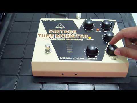 Behringer VT999 Demo