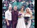 Андрей Черкасов и Кристина Ослина на свадьбе Мусульбес и Литвинова ))