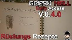 GREEN HELL | REZEPTE FÜR RÜSTUNGEN & BOGENFALLE | Guide