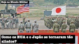 Como os EUA e o Japão se tornaram tão aliados?