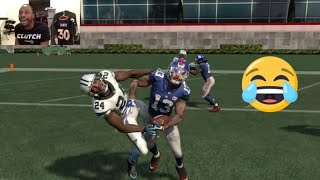 Can Odell Beckham Slap Josh Norman in the Face and then Score a 99yd Touchdown!? Madden 16 Gameplay
