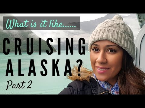 Part 2 What Is It Like On An Alaskan Cruise - Amazing Scenic Cruising Of Tracy Arm Fyord