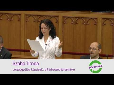 Szégyellje magát Orbán Viktor! - Szabó Tímea