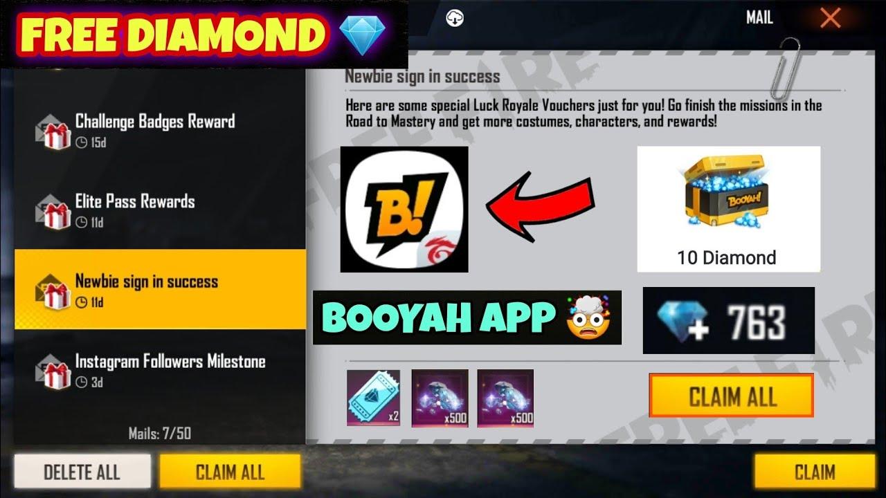 Booyah App Se Diamond Kaise Le 2021 | How To Get Diamonds In Booyah App | Booyah App Free Diamond