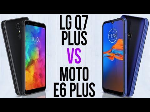 LG Q7 Plus Vs Moto E6 Plus (Comparativo)