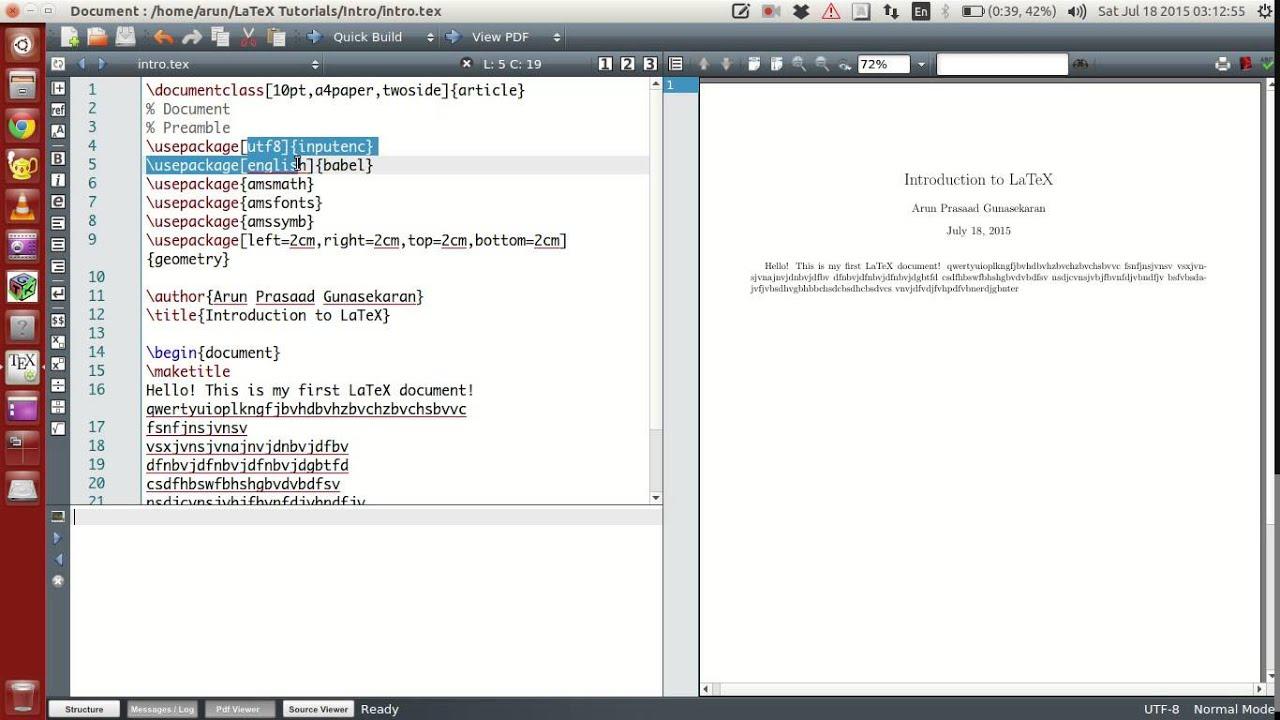 Latex to doc file conversion