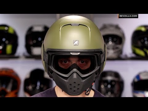 Shark Raw Helmet Review at RevZilla.com - YouTube d8d40d30663