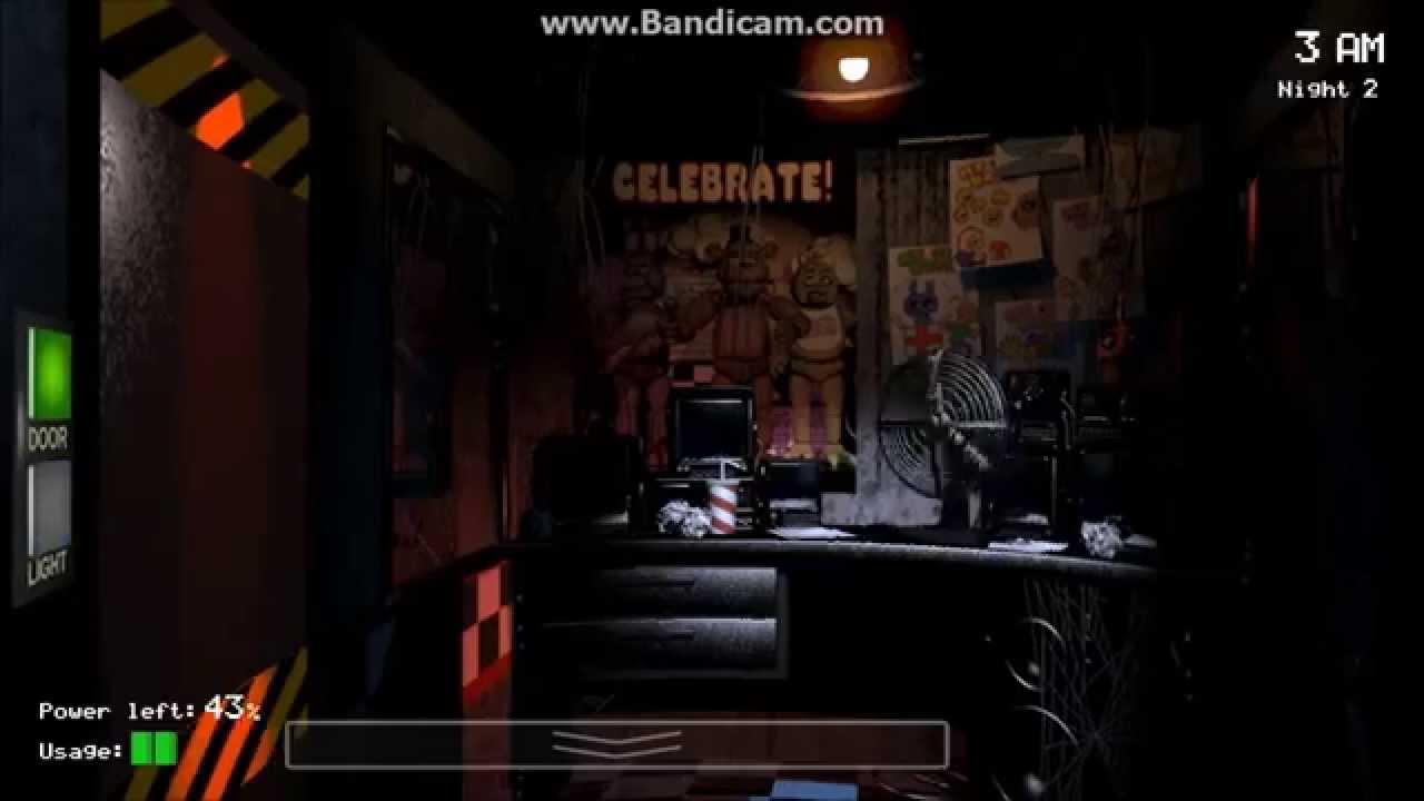 FNAF 1 Gameplay (Part 2) - YouTube  Fnaf 3 Gameplay