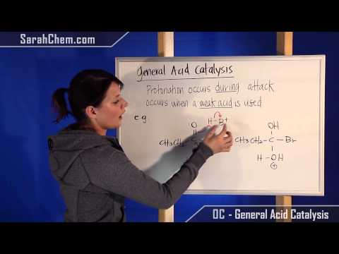 General Acid Catalysis