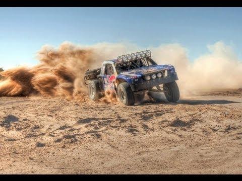 Baja 1000 Off Road Racing Trophy Truck 2011