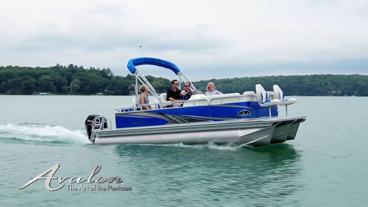 Venture Fish Pontoon Boat Avalon Pontoon Boats