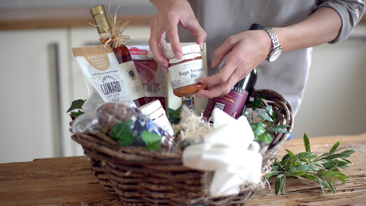Exquisite Geschenk- und Präsentkörbe bei Präsentkorbservice.de - YouTube