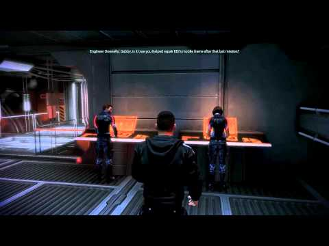Mass Effect 3: Ken & Gabby (all scenes including romance)