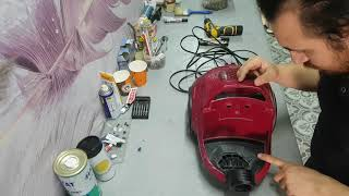 Bosch GS-10 BGS11800 1800 W Nasıl sökülür, tamir edilir, montaj yapılır ?