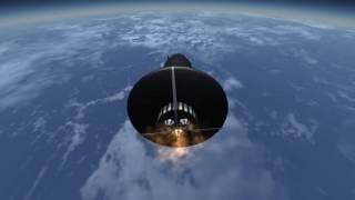 Mercury Atlas 6 - First American in Orbit (Kerbal Space Program - RSS/RO)